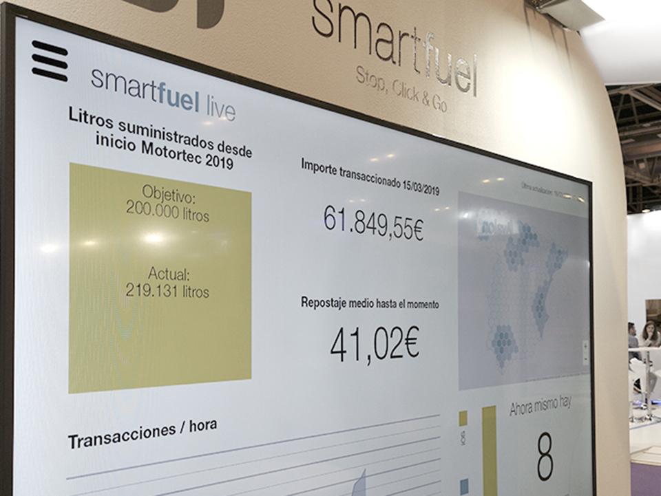 Éxito de Smartfuel en Motortec